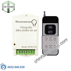 Công Tắc Điều Khiển Từ Xa 2 Kênh 220V - RF2K-220V-RM2C (350W/kênh) - KAWASAN