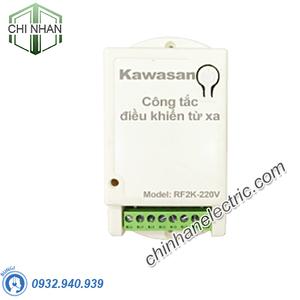 Công Tắc Điều Khiển Từ Xa, 2 Kênh - RF2K-220V (không gồm remote) - KAWASAN