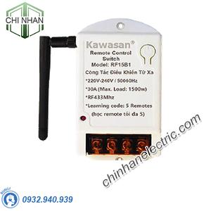 Công Tắc Điều Khiển Từ Xa Có Hẹn Giờ - RF15BT (không gồm remote) - KAWASAN
