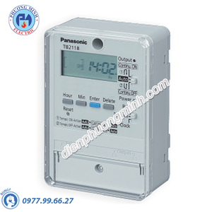 Công tắc đồng hồ Timer - Model TB2128E7