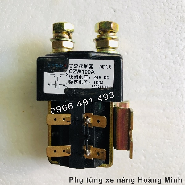Contactor- Realy DC 24V100A