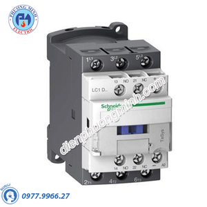 Contactor 3P, cuộn dây điều khiển 120VDC, 25A, 1N/O, 1N/C - Model LC1D25ML