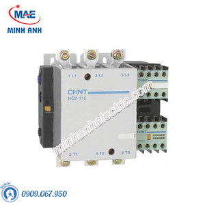 Contactor 3P NC2 điện áp 220VAC hoặc 380VAC - Model NC2-185A