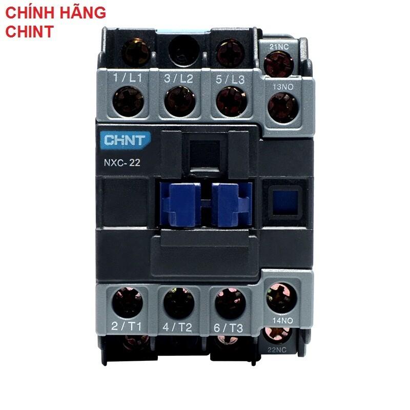 CHÍNH HÃNG CHINT Khởi động từ AC contactor CHINT NXC 22A