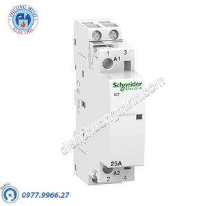 Contactor iCT 2P, coil voltage 24VAC, 25A 2NO - Model A9C20132