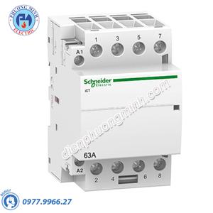 Contactor iCT 4P, coil voltage 230/240VAC, 63A 2NO+2NC - Model A9C20868