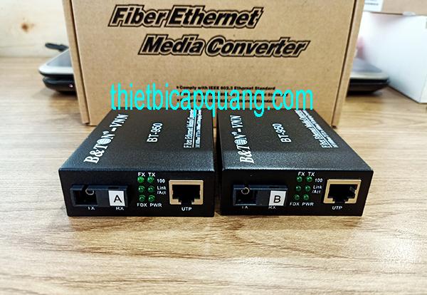 converter quang 1 sợi BTON 950 giá rẻ