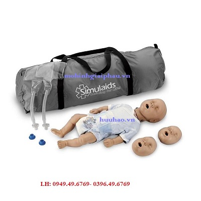 Mô hình cấp cứu CPR cho trẻ sơ sinh Model: 100-2901U