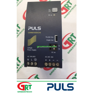 CPS20.241 | Puls | DIN-Rail Power Supplies for 1-phase Systems 24VDC, 20A | Puls Vietnam