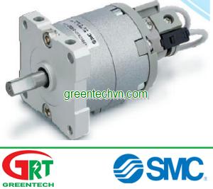 Rotary actuator / pneumatic / double-acting / rotary vane ø 10 - 40 mm   CRBU SMC Vietnam   Khí nén