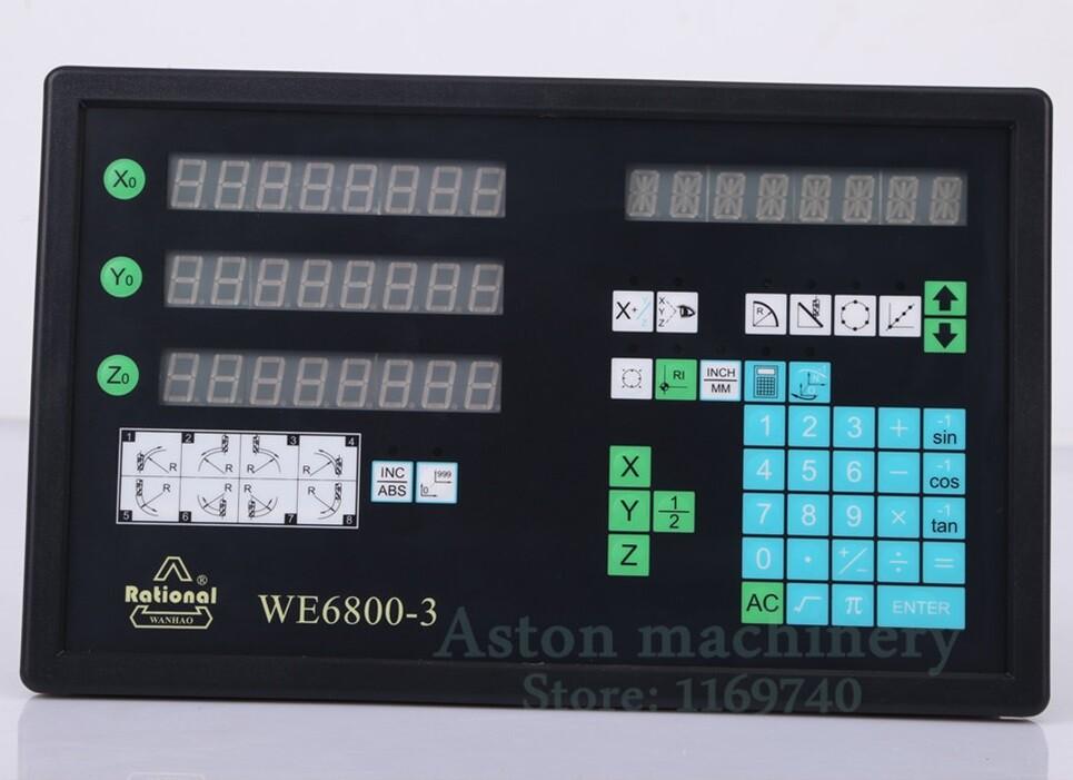 Màn hình thước quang 3 trục WE6800-3
