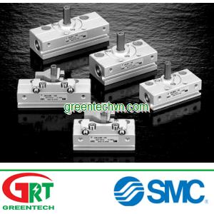 Rotary actuator / pneumatic / double-acting / rack-and-pinion | CRJ series SMC Vietnam | Khí nén