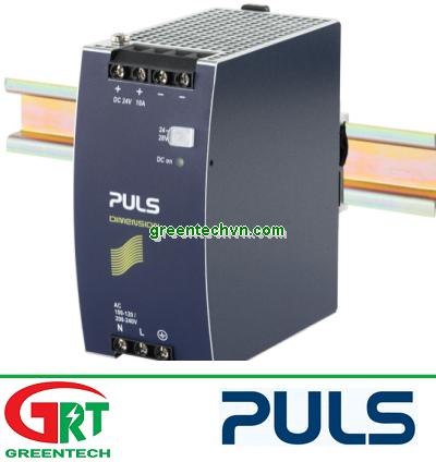 CP10.241 | Puls | Bộ nguồn gắn Din Rail 1 Pha 24VDC, 10A | Puls Vietnam | Bộ nguồn Puls