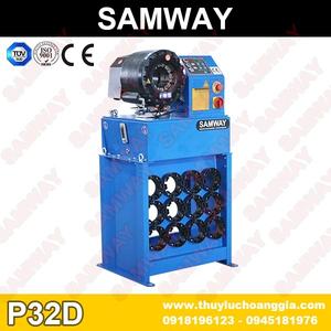 Cửa hàng bán máy bấm ống cao su thủy lực SAMWAY P32D rẻ nhất ở hồ chí minh