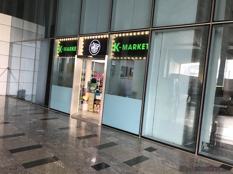 cửa tự động siêu thị hàn quốc