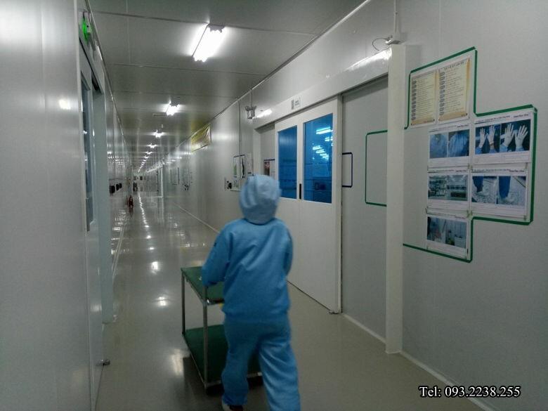 cửa tự động nhà máy KCN