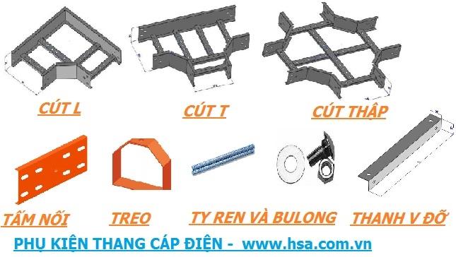 phụ kiện thang cáp điện giá rẻ tại HSA việt nam