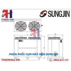 Cụm máy nén Sungjin SLPUC