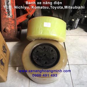 Bánh xe nâng điện PU 330x145