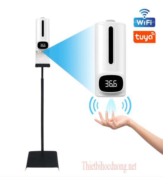 Máy Đo thân nhiệt từ xa cao cấp kết nối wifi điện thoại
