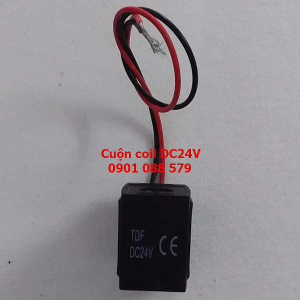 Cuộn coil   Coils for Solenoid Pulse Valves DC24V