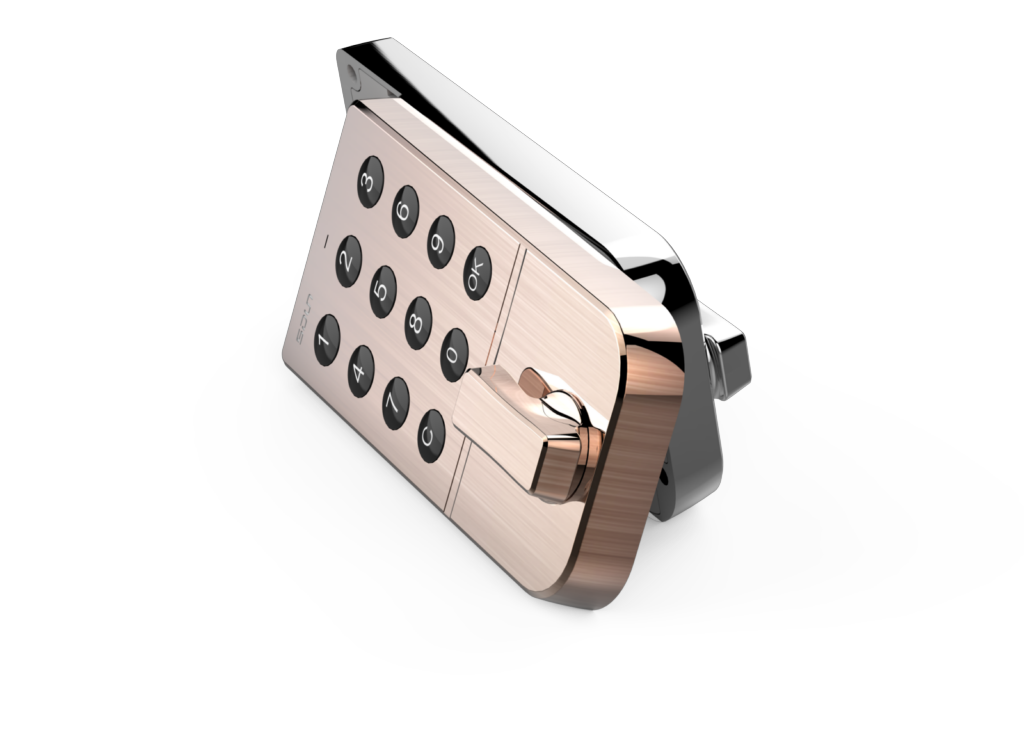 Khóa tủ thông minh SDUN, khóa số, D-Series