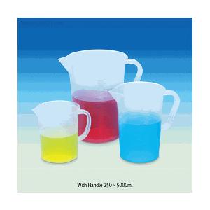 Beaker nhựa có chia vạch dùng trong phòng thí nghiệm Scilab