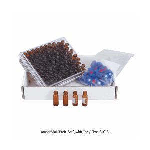 Vial 2ml chia vạch nắp vặn xanh có septa dùng cho HPLC