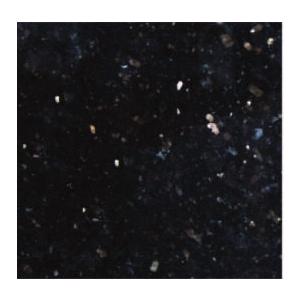 Mẫu sàn đá granite ghép - Kim sa đen