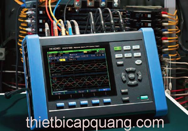 Đặc điểm nổi bật máy đo lượng điện năng Hioki PQ3100