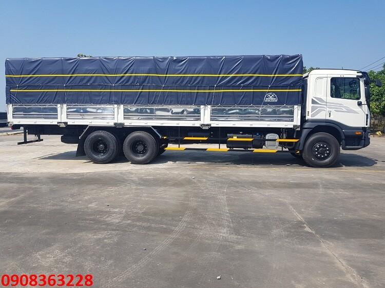 Daewoo 3 chân HU6AA 15 tấn thùng dài 7m6