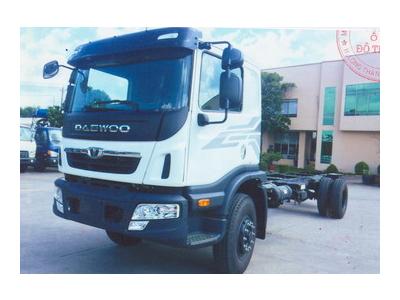Daewoo 9 tấn - Daewoo HC6AA, máy DOOSAN công suất 280 PS, tiêu chuẩn Euro 4