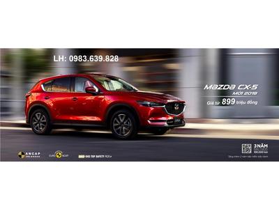 Đánh giá chi tiết Mazda CX5 2018 tại Mazda Thái Nguyên