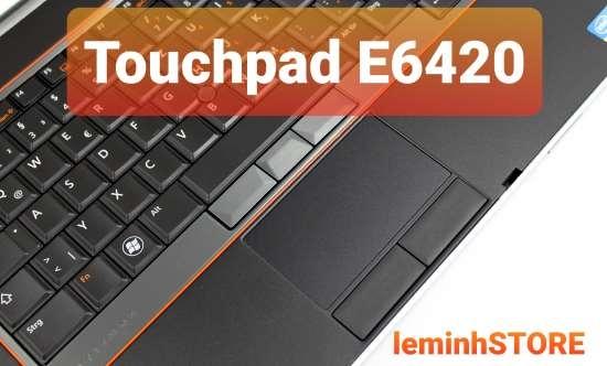 touchpad dell latitude e6420