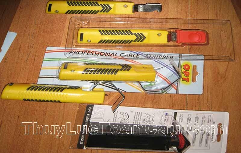 Dao rọc vỏ cáp LY-26-1 và ly26-3 ly26-4 dùng rọc vỏ cáp điện quang