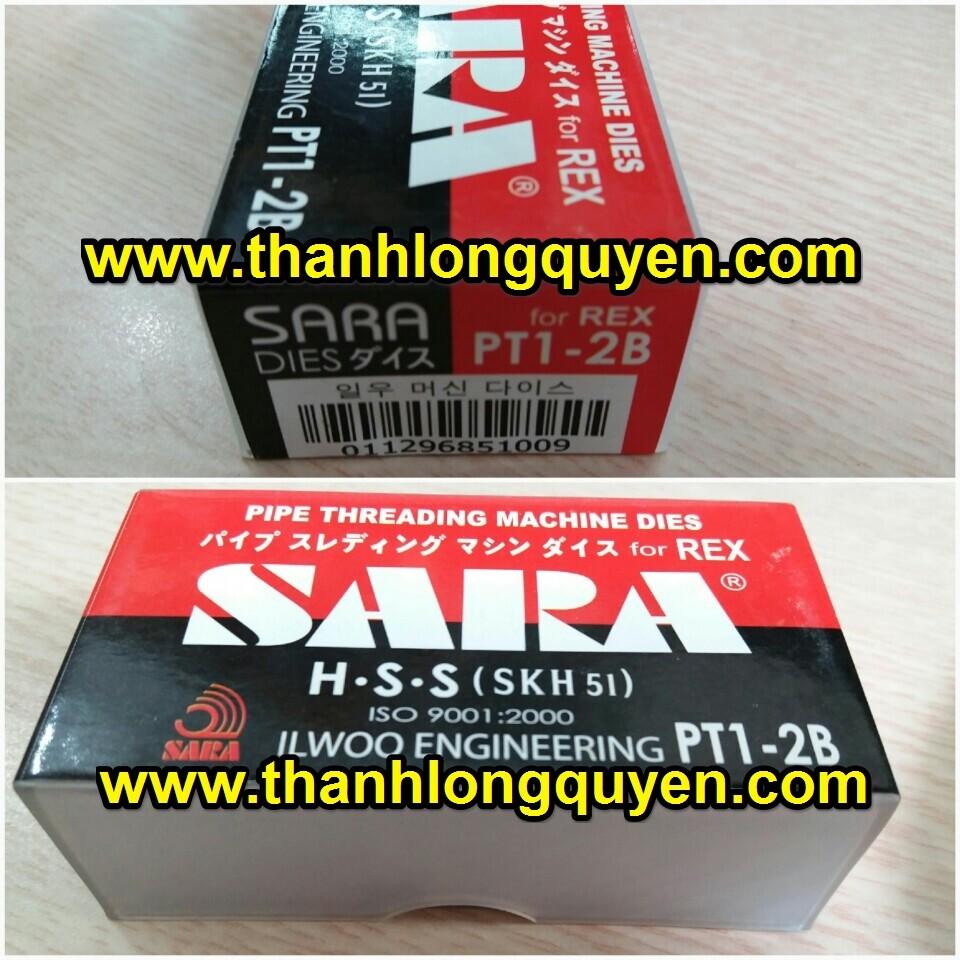 DAO TIỆN REN ỐNG INOX REX 1-2 SARA