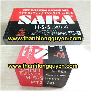DAO TIỆN REN ỐNG INOX REX HIỆU SARA 2-3