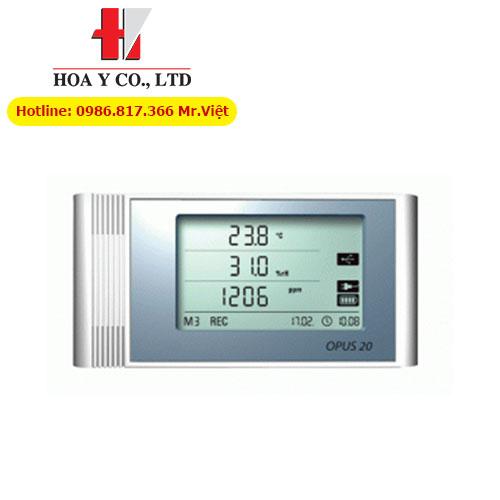 Data-logger OPUS 20 TCO ghi nhiệt độ, độ ẩm và khí CO2 hãng Dostmann