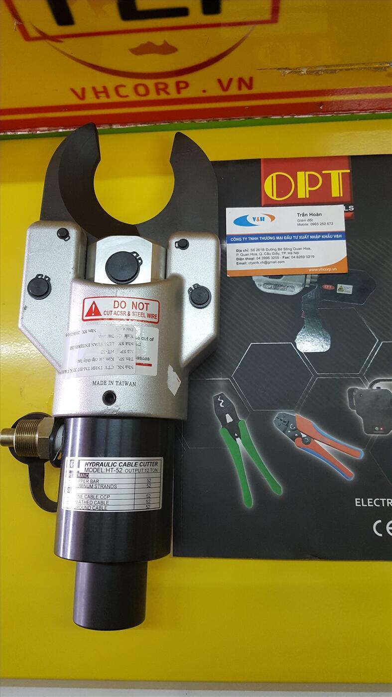 Đầu cắt cáp thủy lực OPT HT-52