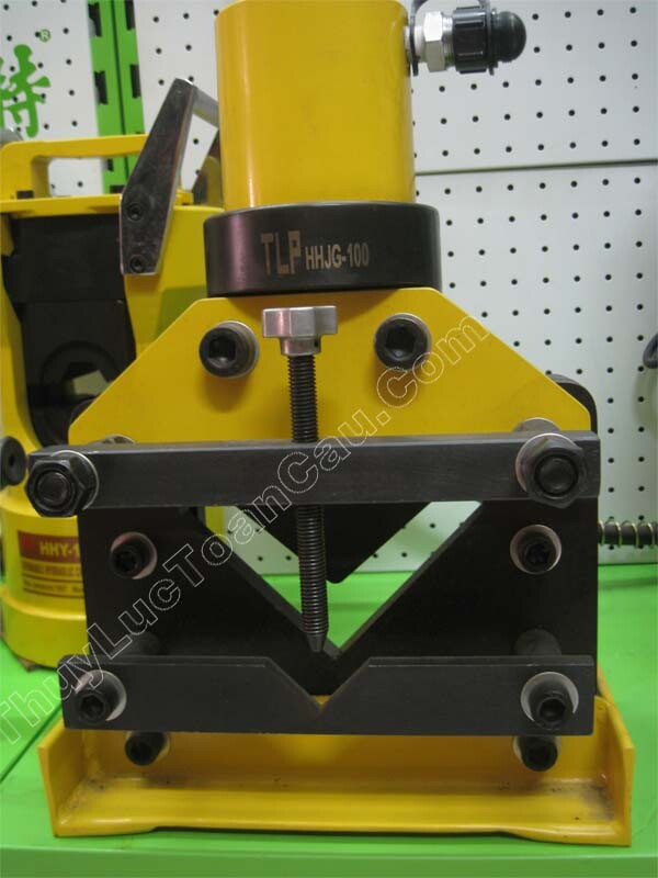 Đầu cắt thép góc V L, Đầu cắt sắt thép thủy lực tlp HHJG-60-100