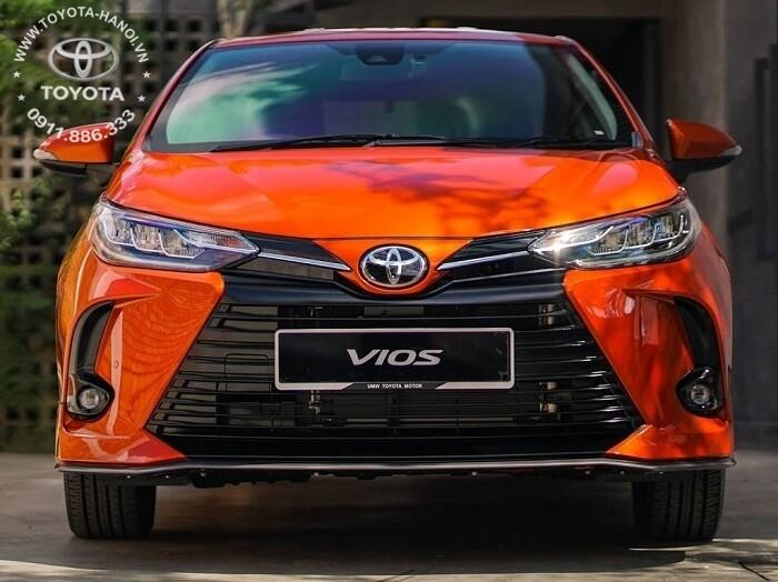 Đầu xe Toyota Vios G 2021