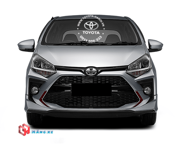 đầu xe Toyota Wigo 2021 nhập khẩu Indonesia