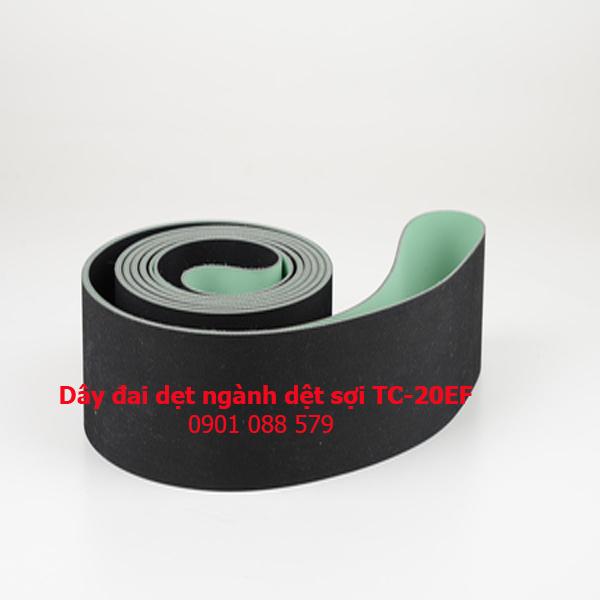 Dây đai dẹt ngành dệt sợi TC-20EF