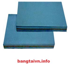 Dây đai dẹt xanh mềm 4mm