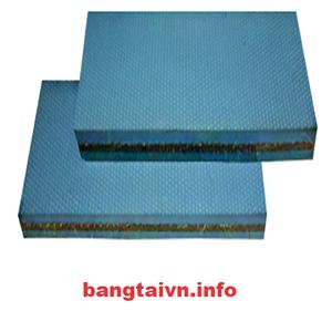 Dây đai dẹt xanh mềm 6mm
