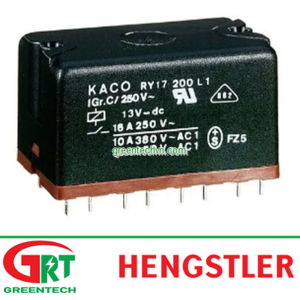 DC reed relay RY | Hengstler DC reed RY | DC Rờ le reed RY | Hengstler Vietnam
