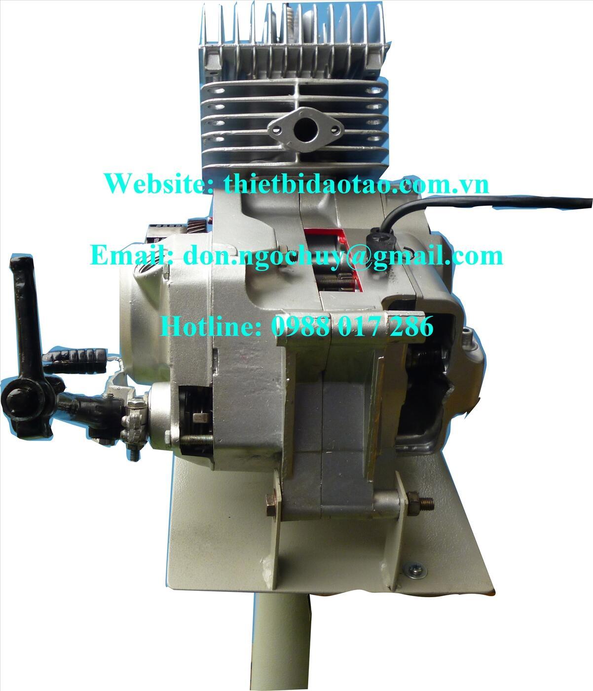 Mô hình động cơ xe ga cắt bổ