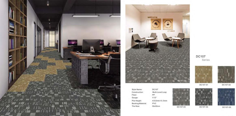 Thảm viên trải sàn DC107 carpet