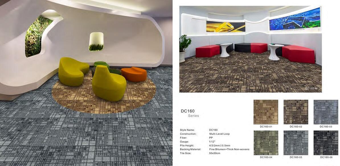 Thảm viên trải sàn DC160 carpet