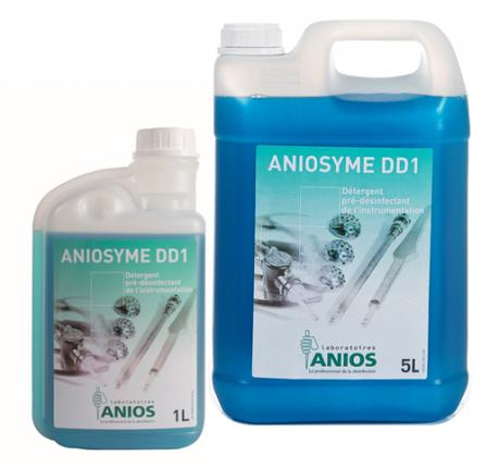 Dung dịch tiền khử khuẩn và tẩy rửa đa enzyme Aniosyme DD1 (1 lít & 5 lít)
